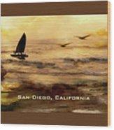 California Love Wood Print