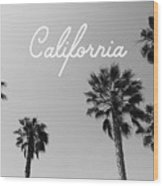California Palm Trees By Linda Woods Wood Print