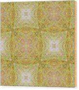 California Spring Oscillation Pattern Wood Print