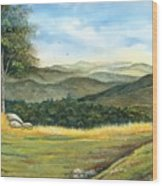 California Spring Wood Print