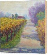California Wine Country Wood Print
