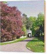 Calke Abbey Entrance - Ticknall Wood Print