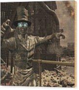 Call Of Duty Black Ops Wood Print