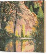 Call Of The Canyon Wood Print