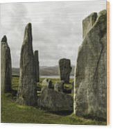 Callanish Stones Wood Print