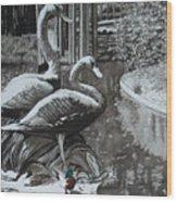 Callaway Mallard Ducks Wood Print