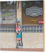 Calle Ocho Cigar Indian Wood Print