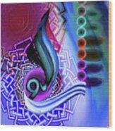 Calligraphy 109 4 Wood Print