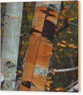 Calling Card Wood Print