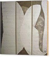 Calling Grey Wood Print