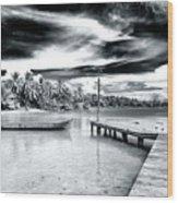 Calm At Boca Del Drago Panama Wood Print