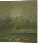 Calm Before The Storm 1870 Wood Print
