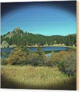Calm Lake Wood Print