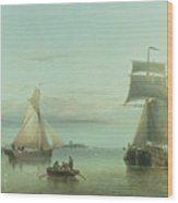 Calm On The Humber, 1864 Wood Print