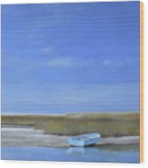 Calm Waters Wood Print