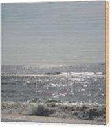 Calming Waves Wood Print