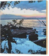 Caloosahatchee Mangroves Wood Print