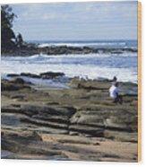 Caloundra Coast. #1 Wood Print