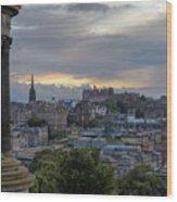Calton Hill - Edinburgh Wood Print