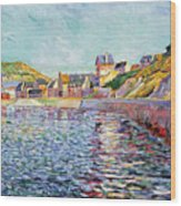 Calvados Wood Print by Paul Signac