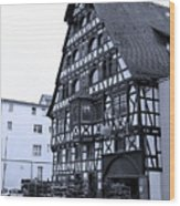 Calw A History Laden Town 01 Wood Print