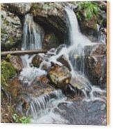 Calypso Cascades White Water Wood Print