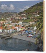 Camara De Lobos Madeira Wood Print