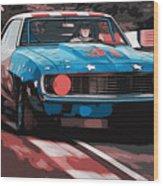 Camaro Z28 Transam 1969 Wood Print