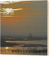 Cambodian Sunsets 1 Wood Print