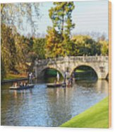 Cambridge 4 Wood Print