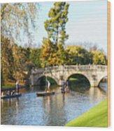 Cambridge 5 Wood Print