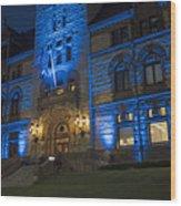 Cambridge City Hall Cambridge Ma Wood Print