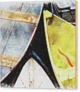 Camden Dories Wc Wood Print