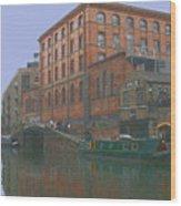 camden lock London Wood Print