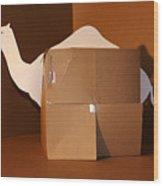 Camel 1 Wood Print