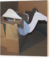 Camel 2 Wood Print