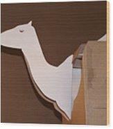 Camel 4 Wood Print