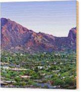 Camelback Mountain, Phoenix, Arizona Wood Print
