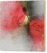 Camellia Burst Wood Print