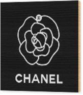 Camellia Chanel Wood Print
