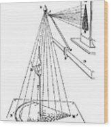 Camera Lucida For Microscopic Drawings Wood Print