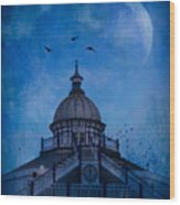 Camera Obscura - Eastbourne Pier Wood Print