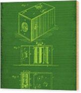 Camera Patent Drawing 1g Wood Print