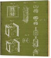 Camera Patent Drawing 2g Wood Print