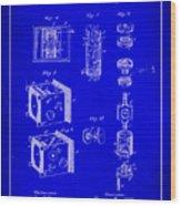Camera Patent Drawing 2h Wood Print