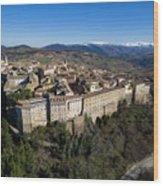 Camerino Italy - Aerial Image Wood Print