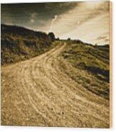 Camino Rural Wood Print