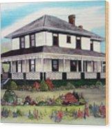 Cammidge House Wood Print