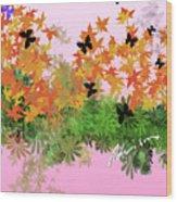 Camo Nature Range Wood Print
