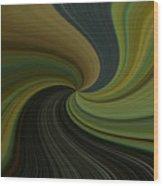 Camo Twist Wood Print